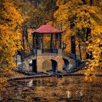 Осенний Китайский мостик :: Сергей Мельниченко