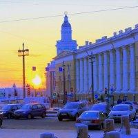 ЗИМНИЙ САНКТ-ПЕТЕРБУРГ :: Николай Гренков