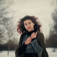 зимний портрет :: Ярослава Бакуняева