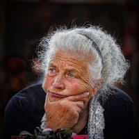 Портрет зеленщицы. :: Павел Петрович Тодоров