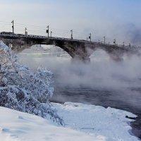 Мост в тумане :: Анатолий Иргл