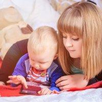 Мама и сын :: Надежда Торопова