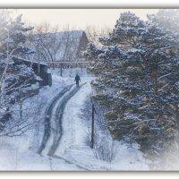 деревенская дорога :: Евгений Фролов