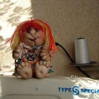Кукла-игольница. :: Елена Перминова