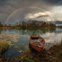 Про небо и берег :: Виталий Истомин