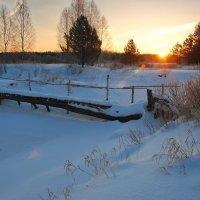 Речка Бужа зимой :: Валерий Толмачев