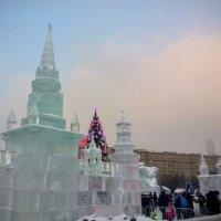 Ледяной город на Поклонной горе. :: Larisa Ereshchenko