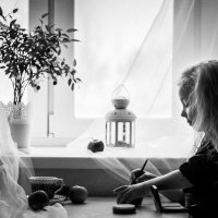 У окна :: Татьяна Наймушина