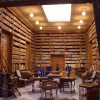 Библиотека в замке :: Дмитрий Лебедихин