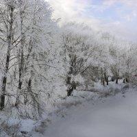 Гжать и зима :: Юрий