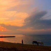 Морской закат :: Виктор Мороз