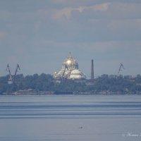 Взгляд из Петергофа на Кронштадт :: Жанна Рафикова