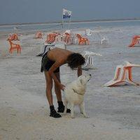 Охрана пляжа на Мёртвом море :: Надежда
