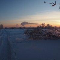 Дороги и дымы отечества... :: Александр Попов