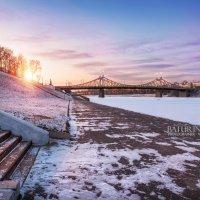 Морозная набережная :: Юлия Батурина