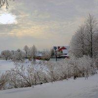 Над Гжатью - зима :: Юрий