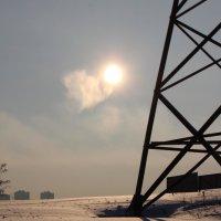 Зимнее солнце :: Владимир Марков