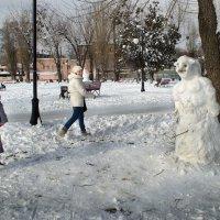 Про Снеговика :: Лидия Цапко