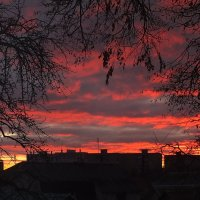 зимний вечер за окном :: Александр Прокудин