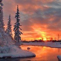 вечерние краски зимы :: Александр