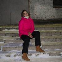 На лестнице. :: Света Кондрашова