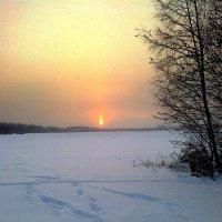 январь на закате :: Леонид Виноградов