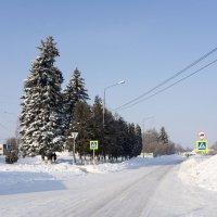 В городе Д зимой... :: Андрей Студеникин