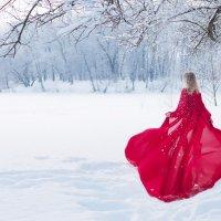 красное платье :: Gannochka