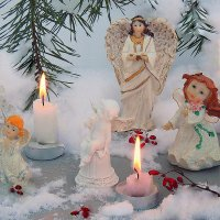 Ангелы и свечи :: Павлова Татьяна Павлова
