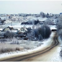 Зимняя дорога :: Ирина Абрамова