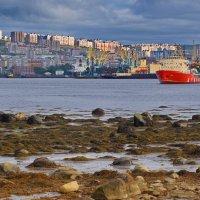 Мурманск. О том как, и где отдыхают арктические ледоколы. :: kolin marsh