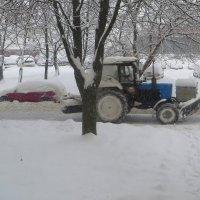 Борьба со снежными заносами! :: Ирина Олехнович