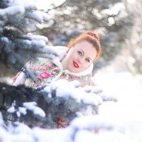 Зимний лес :: devazemlia