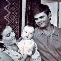 Сыночку 5 месяцев.  1975 год :: Нина Корешкова