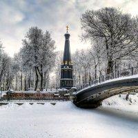 В зимнем саду :: Милешкин Владимир Алексеевич