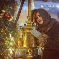 девушка и город :: Ярослава Бакуняева