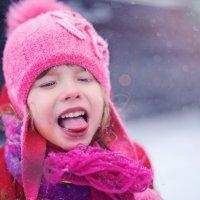 Ловля снежинок в штормовой ветер :: Екатерина Панчук