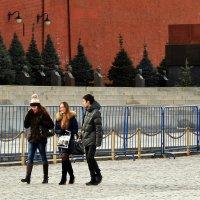 У Кремлёвской стены. :: Владимир Болдырев