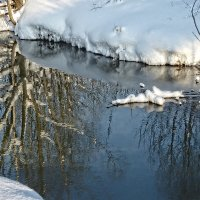 Отражение реальности в текущей воде :: Galina