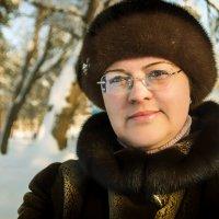 Зимний портрет. :: Андрей Лобанов