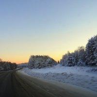 Сибирские дороги. :: nadyasilyuk Вознюк