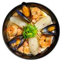 Суп с морепродуктами :: Анна Мандрикян
