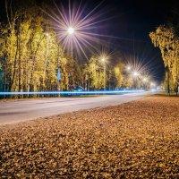 Осенняя ночка :: Дмитрий Стёпин