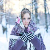 Морозный день. :: Дина Нестерова