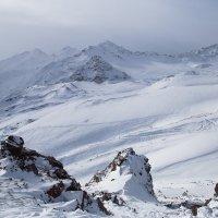 Горы зимой :: Zifa Dimitrieva