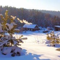 Утопая в снегу :: Анатолий Иргл