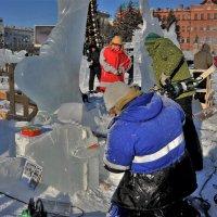 Как рождаются  шедевры   серия из льда 3\\5 :: Николай Сапегин
