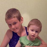 Два братика :: Елена Гвинашвили