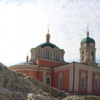 Песок в монастыре :: Сергей