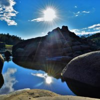 Отражение солнца :: Karolina